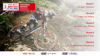 Dates for the 2018 HSBC UK | National Downhill Series