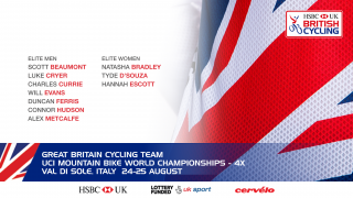 Great Britain Cycling Team for UCI 4X Mountain Bike World Championships