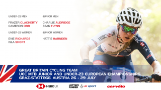 Great Britain Cycling Team for the 2018 UEC MTB European Championhips in Graz-Stratteg, Austria.