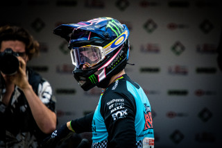 Danny Hart wins the 2019 HSBC UK | National Downhill eilte title.
