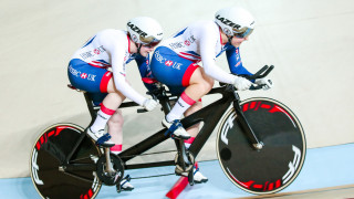 Sophie Thornhill and Helen Scott win at the 2018 UCI Para-Cycling Track World Championships in Rio, Brazil.