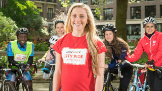 Laura Kenny launches HSBC UK City Ride 2017