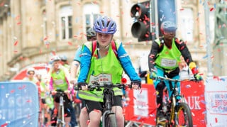Thousands of riders took to the streets of Birmingham for the first ever HSBC UK City Ride