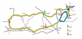 Richmond GP map
