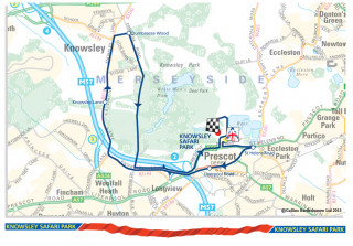 2013 Tour of Britain route stage three