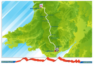 2013 Tour of Britain route stage five