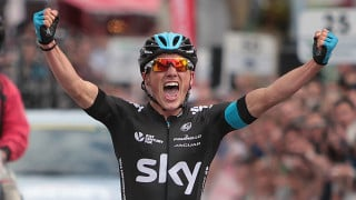 Peter Kennaugh's delight at first British road race title.