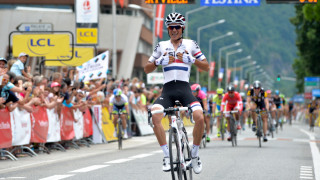 Peter Kennaugh ecstatic after stage triumph in the 2015 Criterium du Dauphine.