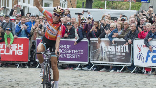 Lizzie Armitstead at the British Cycling National Road Championships