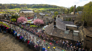 The route will take the 18 teams of eight riders to all four corners of Yorkshire, linking together the county's sporting, historic, industrial and literary greats.