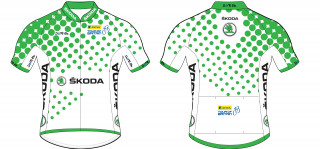 The SKODA King of the Mountains Jersey