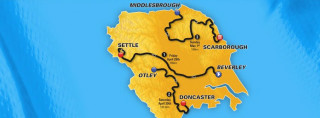 The route for the 2016 Tour de Yorkshire