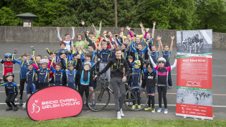 Maindy Flyers Youth Cycling Club is hosting events in the centre of Cardiff as part of the Velothon Wales weekend.