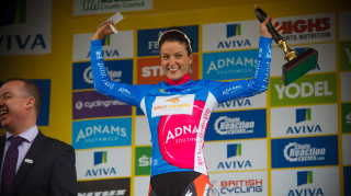 Lizzie Armitstead retains the Best British Rider jersey
