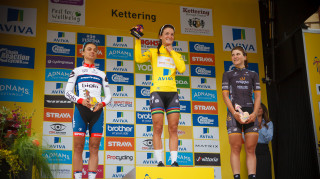 Lizzie Armitstead claims The Women's Tour trophy