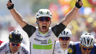 Mark Cavendish delivered a devastating sprint to take his 27th Tour de France stage win and with it the yellow jersey for the first time in his career.