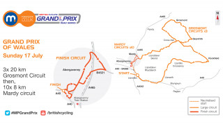 Motorpoint series round three route map