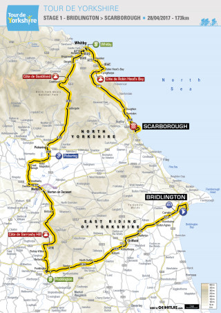 Tour De Yorkshire 2017 Route Announced