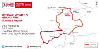 2017 HSBC UK | National Women's Road Series - Ryedale Grand Prix