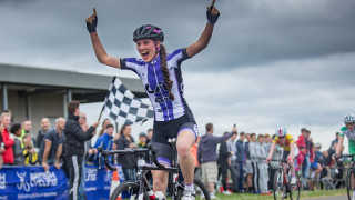 Pfeiffer Georgi wins at the 2016 British Cycling National Youth Circuit Race Championships