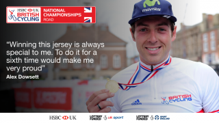 Can Alex Dowsett win a record sixth British time trial championship on the Isle of Man?