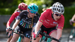 Emily Nelson in action at the Lincoln Grand Prix as part of the 2017 HSBC UK | National Women's Road Series