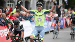 Adam Blythe becomes British road race champion in Stockton-on-Tees in 2016