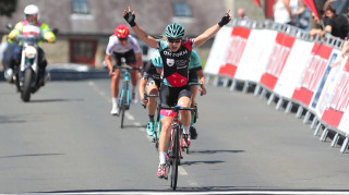 Julie Erskine wins the Curlew Cup, round five of the HSBC UK | National Women's Road Series