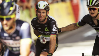 Mark Cavendish after crashing on stage four of the Tour de France