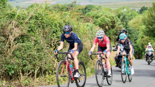 Elinor Barker in action at the 2017 HSBC UK | National Road Championships