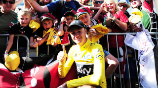 Chris Froome at the 2017 Tour de France