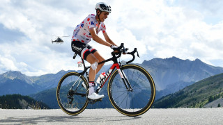 2017 Tour de France polka dot jersey winner Warren Barguil