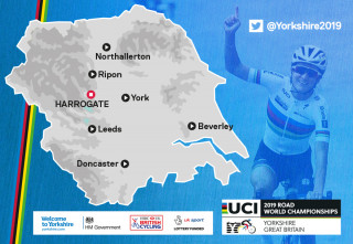 The towns and cities across Yorkshire being lined up as host locations for the 2019 UCI Road World Championships.