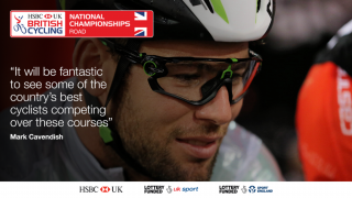 Mark Cavendish on the courses for the 2017 HSBC UK | National Road Championships