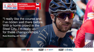 Russ Downing on the HSBC UK | National Circuit Championships