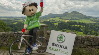 The SKODA King of the Mountains stage