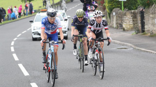 The breakaway group on stage four of the ovo energy women's tour