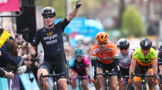 Kirsten Wild wins stage one of the Women's Tour de Yorkshire
