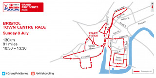 Bristol GP course Map 2018.