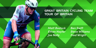 GBCT team for the 2018 Tour of Britain.