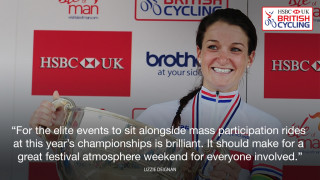 National championships will help to inspire says reiging champion Lizzie Deignan