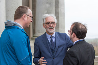 Lancaster Grand Prix Launch - Ashton Memorial, Lancaster, England - Brian Cookson at the launch of the Lancaster Grand Prix Cycle Race.