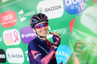 OVO Energy Women's Tour, Stage 1 sign-on in Suffolk, 2018.