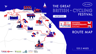 Men's Road Route - National Road Championships 2019.