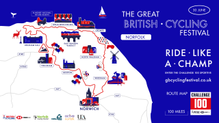 Great Britain Cycling Festival Sportive Route - Noriwch.