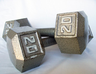 Image of dumbells