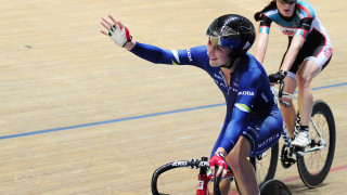 Trott once again saw off a determined challenge from Archibald in the 30km scratch race.