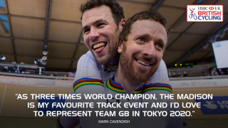Mark Cavendish welcomes the addition of the Madison to the Olympic prgramme in Tokyo