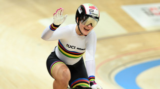 Germany's nine-time world champion Kristina Vogel to compete at the Tissot UCI Track Cycling World Cup in Manchester