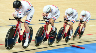 Team KGF have shined in the team pursuit on the international stage